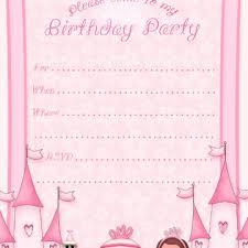impressive happy birthday party invitation template design and