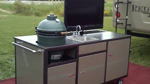 portable outdoor kitchen island small kitchens bbq islands fireside outdoor kitchens