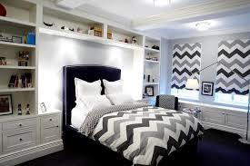 Chevron Bedrooms Blue And Green Boys Bedrooms Contemporary Boy U0027s Room