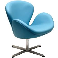 arne jacobsen swan chair leather