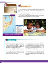 historia libro 5 grado 2016 2017 los mapas hablan de méxico bloque i lección 3 apoyo primaria