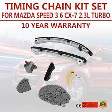 timing chain kit replacement fits mazda 3 6 cx 7 2 3l mps turbo no