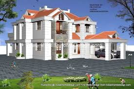 new 3d view design of indian home design from er prashanth kp