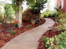 Backyard Walkway Ideas by How To Install A Stone Paver Walkway How To Diy Backyard Bike