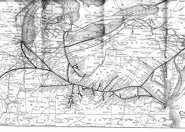 Ohio Railroad Map by C U0026o