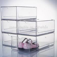 chic clear stackable storage drawers 70 best foldables closet