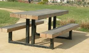 picnic table plans detached benches furniture bench wooden picnic free folding table plans redwood