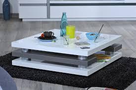 table basse moderne design table basse carrée blanche trendsetter