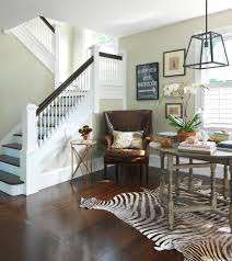 How To Decorate A Banister How To Decorate Staircase Staircase Traditional With Stacked Books