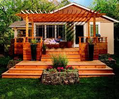 wonderful simple wood patio designs inside decor