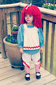 Raggedy Ann Costume My Sweet In Her Handmade Raggedy Ann Costume Sewing