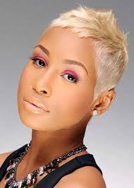 short hairstyles for black women spiked on top small curls in back and sides of hair image result for pixie haircuts on black women short cuts