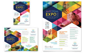 graphic design flyer ideas health fair flyer ad template