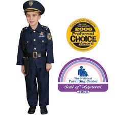 Boys Police Officer Halloween Costume Police Officer Policeman Uniform Boys Kids Girls Costume
