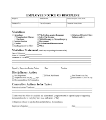 disciplinary action form template morningperson co