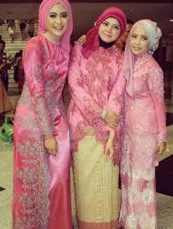 model baju kebaya muslim 30 desain model baju kebaya muslim brokat modern pesta terbaru