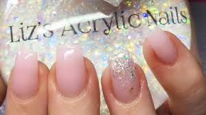acrylic nails simple square nails amor youtube