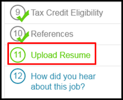 How Do You Do A Job Resume by How Do I Upload My Résumé On A Job Application U2013 Peoplematter