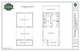 16 x 24 floor plans cabin home pattern plan 613 s