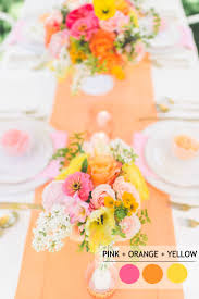 color combinations with orange 15 fabulous summer wedding color combos