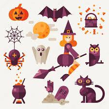 light halloween set u2014 stock vector tastyvector 85866640