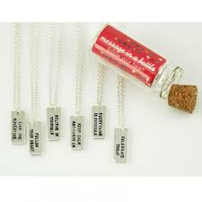 inspirational necklaces message in a bottle inspirational necklaces