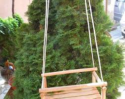 Swings For Backyard Wooden Swing Etsy