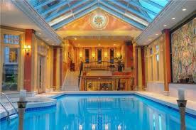 luxury homes with indoor pools interior design