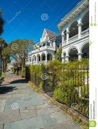 Charleston Style Homes Southern Homes Stock Photos Image 34740913