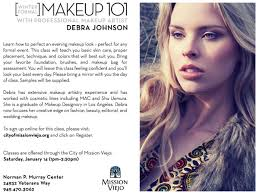 makeup classes los angeles winter formal makeup 101 debra johnson makeup artist