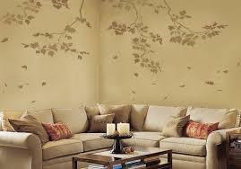 wall stencils sycamore branches 3 pc reusable stencils