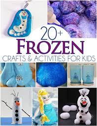 20 frozen crafts activities for link up i arts n
