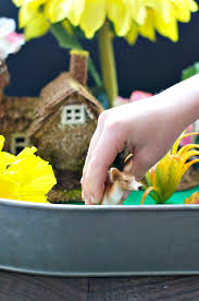 indoor fairy garden an easy craft for kids the seasoned mom