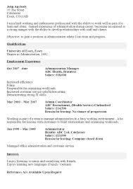 Examples Of Summary On A Resume by Cv Before And After Example The Cv Store