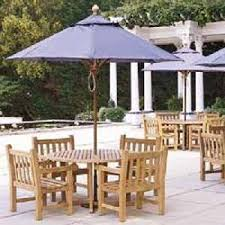 green teak outdoor furniture hotel garden restaurant indonesia