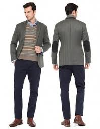 blazer sweater s charcoal blazer brown fair isle v neck sweater blue