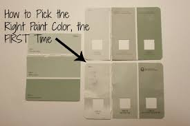 Choosing Wall Color by Picking Room Colors Choosing Paint Colors For Your House