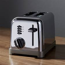 Toaster Retro Cuisinart Classic 2 Slice Toaster Crate And Barrel