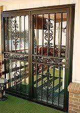 Security Bars For Patio Doors Best 25 Screen Door Protector Ideas On Pinterest Fireplace