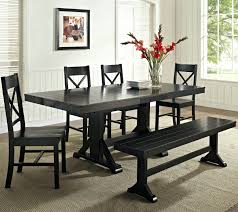 Farmhouse Style Dining Chairs Farm Table With Bench Seating Full Size Of Kitchen Full Size Of