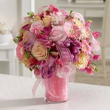beautiful flower arrangements pink pearly pleasures florist same day flower delivery for