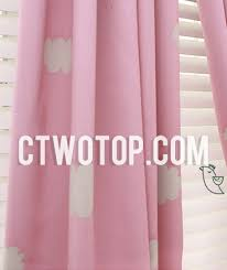 Kids Blackout Eyelet Curtains Cloud Patterned Half Price Inexpensive Nursery Kids Curtains