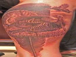 13 terrific turkey tattoo designs