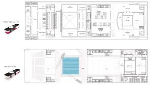 orchestra floor plan busan opera house proposal nabito arquitectura archdaily