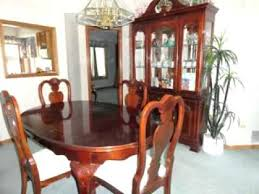 Dining Room Chairs Cherry Cherry Dining Room Furniture Traditional Brown Cherry Finish