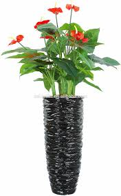 home office wedding decor plastic ornamental artficial orchids red