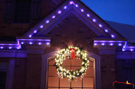 moon light lighting lighted wreath with bow with cool