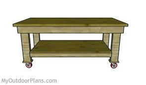5 Workbench Ideas For A Small Workshop Workbench Plans Portable by Heavy Duty Workbench Plans Myoutdoorplans Free Woodworking