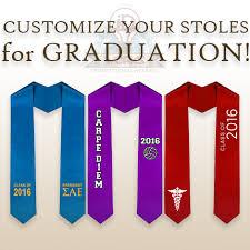 graduation stoles graduation stoles id works