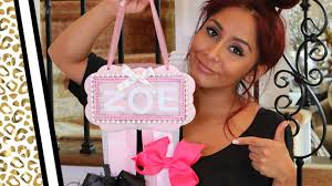 snooki u0027s diy ribbon holder best baby shower gift ever youtube